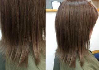 【贅沢コース】カット+カラー+縮毛矯正のメイン画像