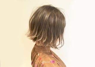 【stop!ブリーチ】透明感・色持ち持続アドミオカラー+カットのメイン画像