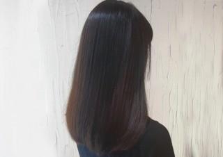 縮毛矯正+カット+ファイバープレックス使用のメイン画像