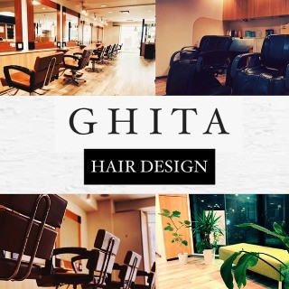 GHITA hairdesignのロゴ画像