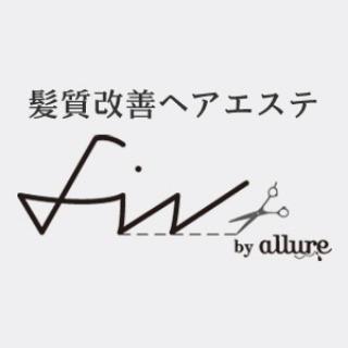 髪質改善ヘアエステ fin by allure(フィン バイ アリュール) 池袋店 西口のロゴ画像