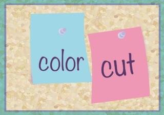 前髪カット+カラーのメイン画像