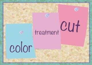 【カット】+【つやカラ】髪にしいカラー剤に相性バツグンシルクトリートメントのメイン画像
