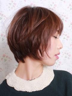 ふんわりショートのヘアスタイル1