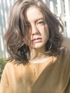 ☆LOCO☆ かきあげバング×くせ毛風グラマラスカールのメイン画像
