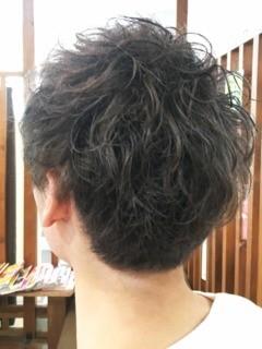 メンズスタイルのヘアスタイル1